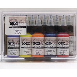 Färgkit E - Transparent primär