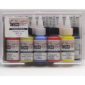 Färgkit G - Täckande och transparent